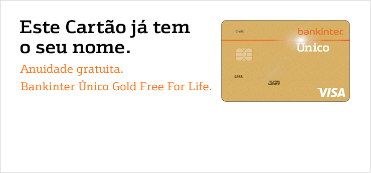 Bankinter Único Gold Free For Life